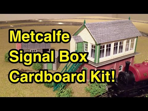 Metcalfe Signal Box Kit Build & Closer Look