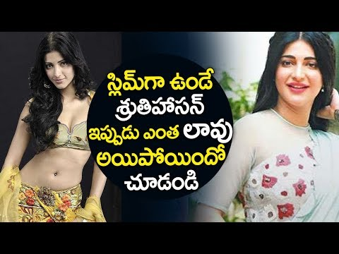 Shruti Hassan's Sudden Weight Gain Has Sparked Some Weird Rumours
