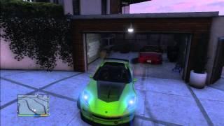 GTA 5 TUNING  HOUSE