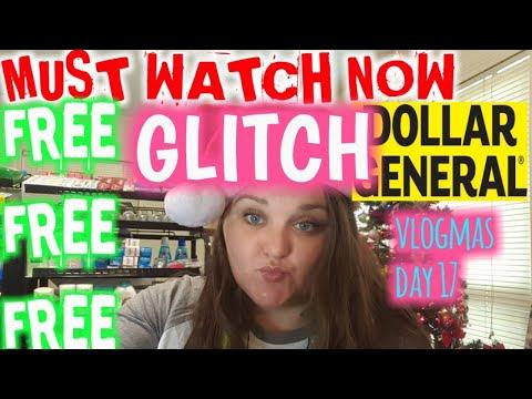 GLITCH RUN FREE FREE FREE At DOLLAR GENERAL HURRY