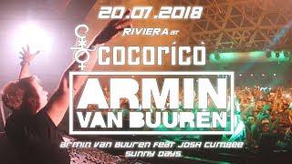 Armin Van Buuren | Armin Van Buuren feat. Josh Cumbee - Sunny Days | Cocorico 2018