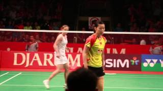 Li Xuerui at Djarum Indonesia Open Super Series Premier 2013