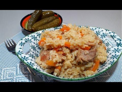 Рисовая Каша с Мясом / Вкусный Ужин на Скорую Руку