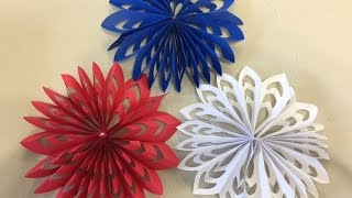 3D Snowflake Tutorial - Day 3 of our 30 Days Of Thankfulness