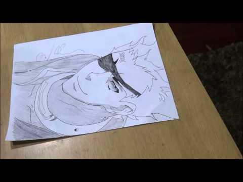 Deadman Wonderland- Senji (Crow) Speed Drawing