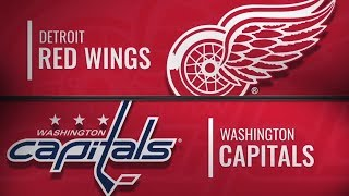 Detroit Red Wings vs Washington Capitals | Dec.11, 2018 NHL | Game Highlights | Обзор матча