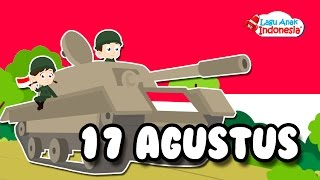Gambar cover Lagu 17 Agustus Tahun 45 - Lagu Anak Indonesia - Nursery Rhymes - أغنية يوم الاستقلال
