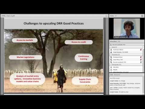 FAO Webinar on resilience #12 –Benefits of farm-level disast