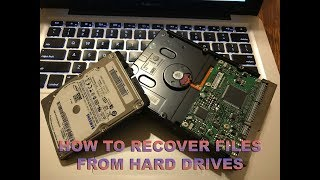 How To Recover Files From A Hard Drive - Laptop or Desktop - Mac or PC