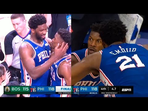 Joel Embiid Gives Jimmy Butler His Best Respect After JimmyB Destroys the Celtics in Final Seconds