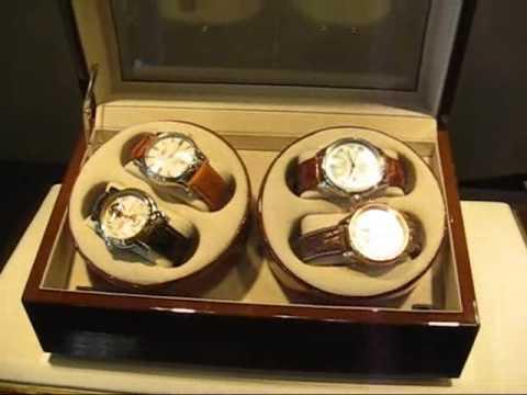Cofanetto porta orologi automatici youtube - Porta orologi automatici ...