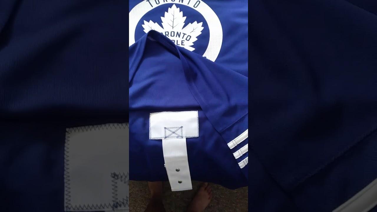 NHL Adizero Adidas jersey quick review. - YouTube c2d560335c6