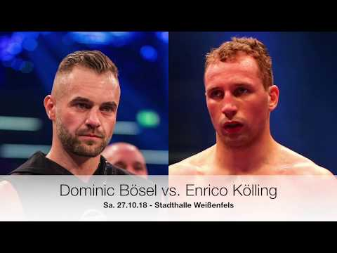 Enrico Kolling Vs Dominic Bosel Alles Zum Kampf Youtube