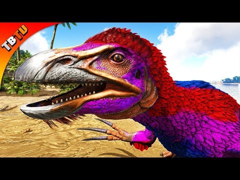 FULLY MUTATED THERIZINOSAURUS! THE BEST TICKLE CHICKENS EVER! Ark Survival Evolved E36 thumbnail