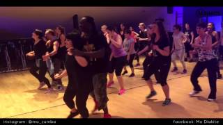MO DIAKITE: Besos a escondidas *Grupo Extra* (Zumba® fitness Bachata choreography)