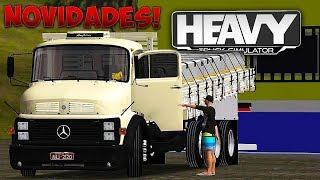 Atualização do Heavy Truck Simulator (NOVIDADES)