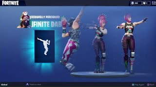 📺MenamesCho's LIVE 💃 INFINITE DAB 🕺 ALL SKINS 💃 Fortnite Battle Royale 😃 Friday 6th July
