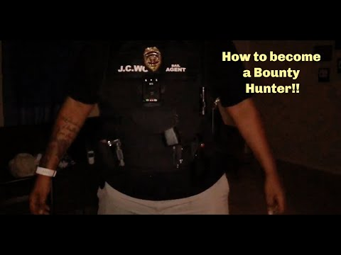 How To Become A Bounty Hunter || Bail Enforcement Agent