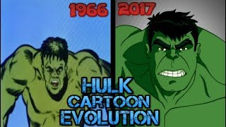 Hulk Cartoon Evolution [1996-2017]