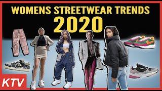 WOMENS STREETWEAR TRENDS 2020