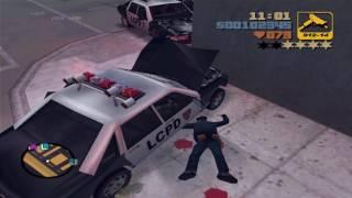 Grand Theft Auto 3 - Killing Police (Portland 4 Stars)