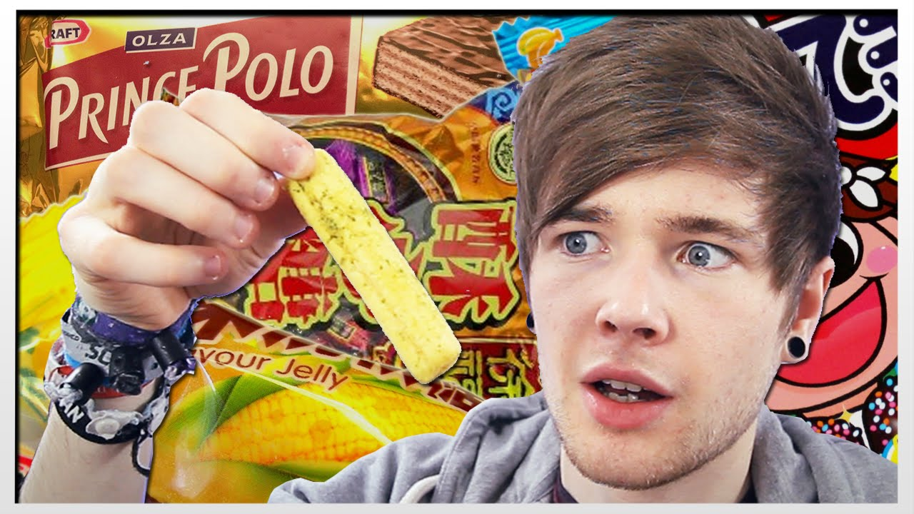 trying food from around the world youtube