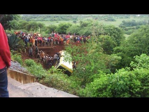 Bus Crash in Karatu, Tanzania, Arusha Region , kills 34 students and teachers  in Marera gorge