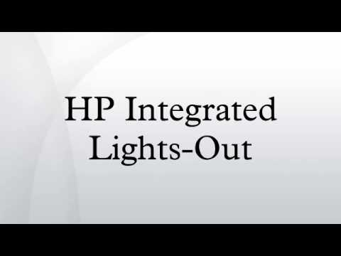 HP Integrated Lights-Out