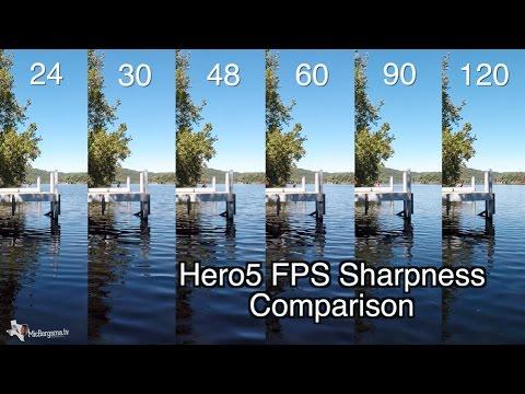 Hero5 Black - 1080p 24-120 FPS Quality Sharpness Comparison - GoPro Tip #546 | MicBergsma