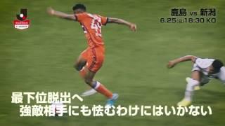 2連勝中の鹿島が3連敗中の新潟をホームに迎える 明治安田生命J1リーグ...