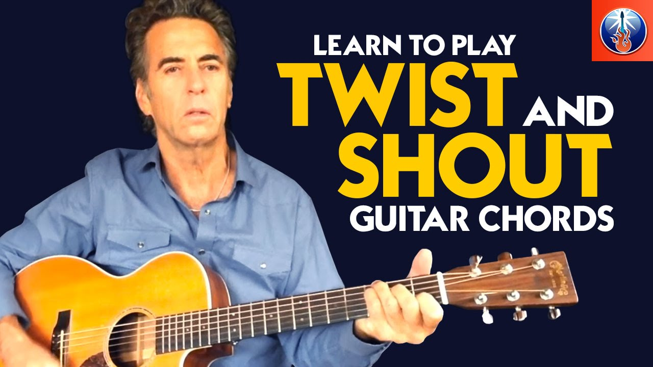 Twist And Shout Guitar Lesson Learn To Play Twist And Shout Guitar