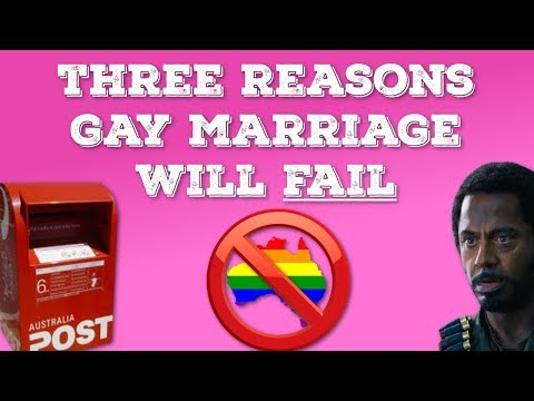 Three Reasons Gay Marriage Vote Will Fail #Australia