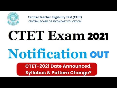 CTET-2021 Notification Announced | Syllabus & Pattern Change? Prabhat Exam