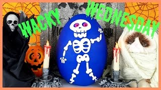 Wacky SKELETON Wednesday! Halloween Candy Monster! Blind Bags! Uggly's!