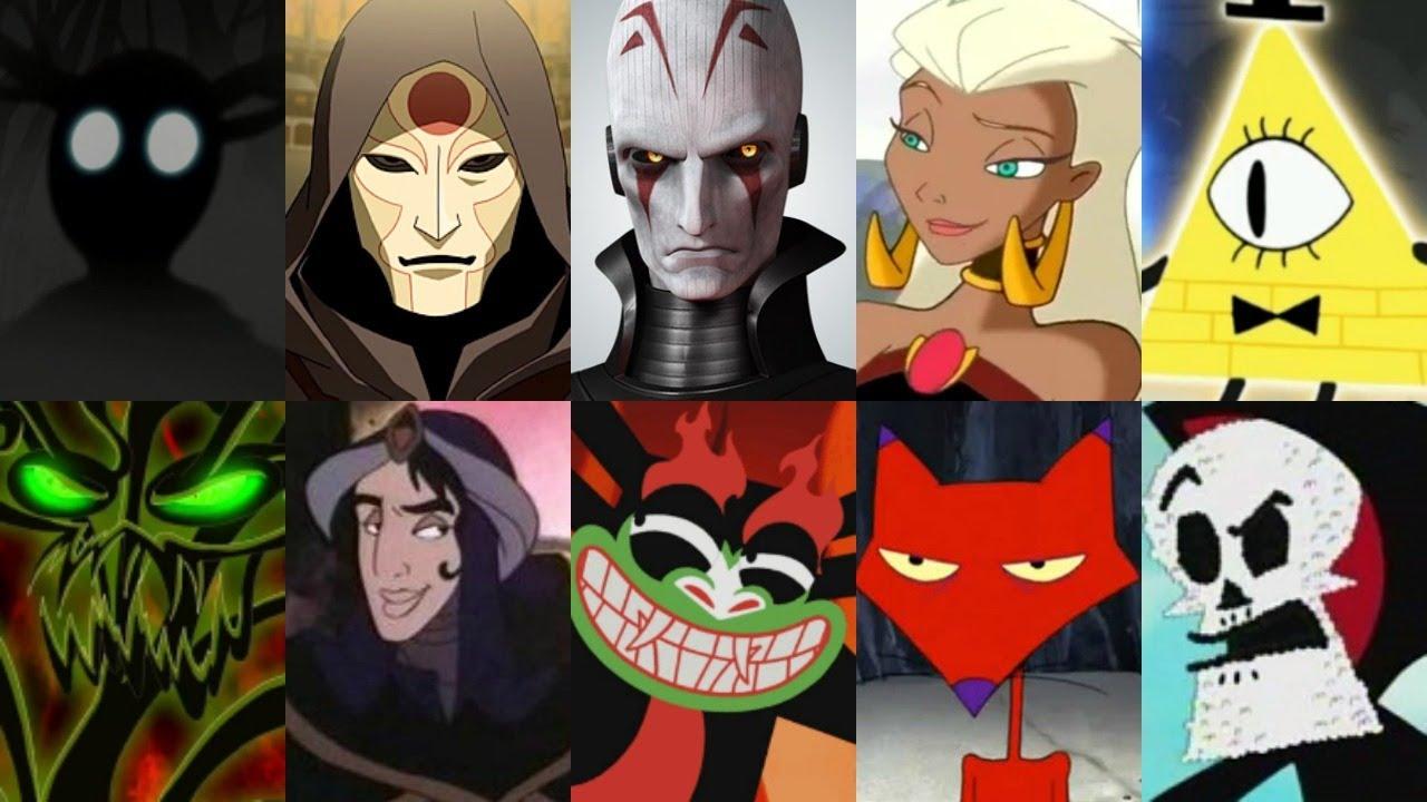 Defeats of my Favorite Cartoon Villains Part II (Re-Upload)