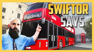 Swiftor Says Get On The Bald Bus!