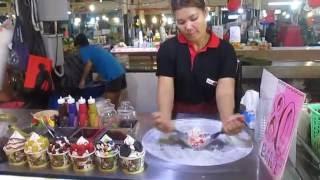 """""""Онлайн - мороженое"""" или """"жареное мороженое"""" (ulichnoe morozhenoe tailand phuket)"""