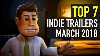 Baixar Top 7 Best Looking Indie Game Trailers - March 2018