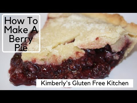 How To Make A Gluten Free Berry Pie