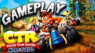 Asi Es El Nuevo Crash Team Racing Nitro-fueled Gameplay