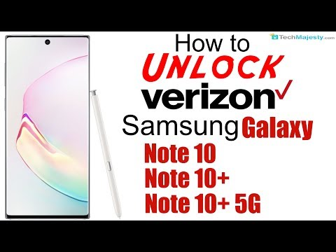 How To Unlock Verizon Samsung Galaxy Note 10, Note 10+, & Note 10+ 5G - Use In USA & Worldwide