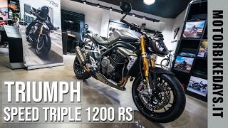 Triumph Speed Triple 1200 RS - FIRST WALKAROUND 😍