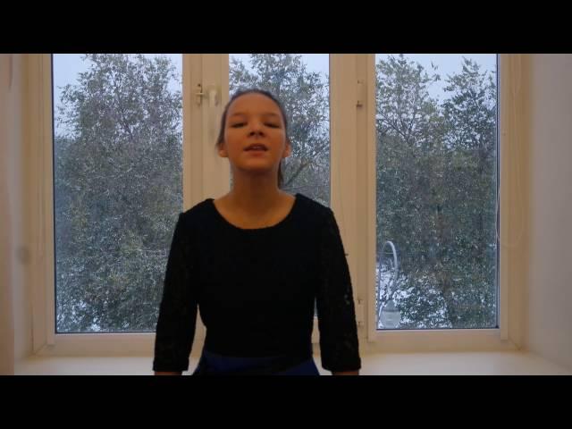 Изображение предпросмотра прочтения – НатальяОсипова читает произведение «Ангел бледный (Ангел бледный, синеглазый…)» В.Я.Брюсова