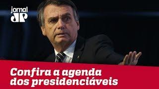 Bolsonaro Recua e afirma que está aberto a debates. Confira a agenda dos presidenciáveis