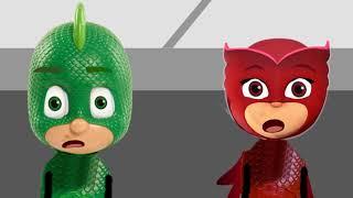 Pyjamahelden   PJ Máscaras de Robar Un Coche   Español dibujos Animados Para Niños, dibujos Animados