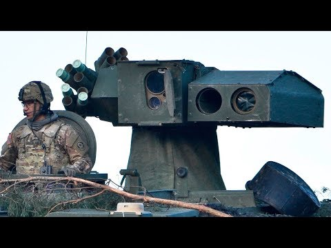 Tank Destroyer M1134 Stryker in Action - Awesome Tanks Hits with the TOW Missile