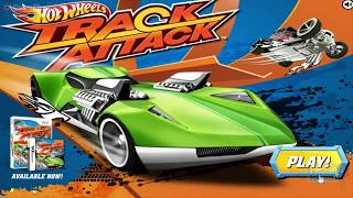 Hot Wheels Tracks / Track Attack / For Children / Browser Flash Games / Gameplay Video