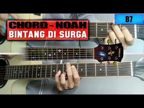 Chord Gitar   NOAH - Bintang di Surga (Versi Live Salam Ramadhan)