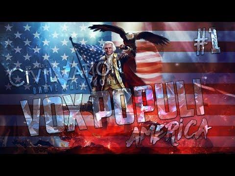Civilization 5 Vox Populi America Let's Play [Pt. 1]