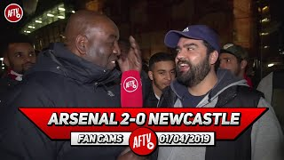 Arsenal 2-0 Newcastle | Sokratis Is The Best Defender We've Had Since 2006!